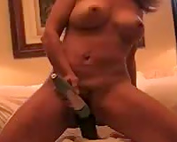 I'm ready for some huge black dick-Amateur Interracial Porn