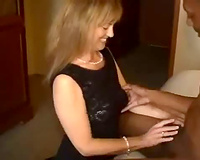 Trash talking white wife gets big black cock