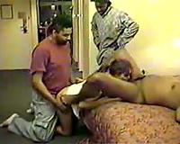 Amateur Interracial Porn-Horny studs nail white slut