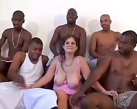 Cuckold films double penetration - interracial group sex