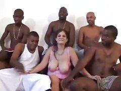 Cuckold films double penetration - interracial group sex