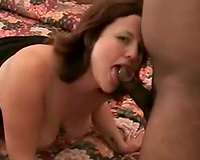 Amateur Interracial Porn-His black cock is nice and big