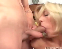 Skinny rimmed wench booty screwed in trio