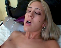 Trina Michaels sucks large dark schlong