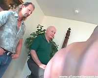 Black fellows make cheating cheating wife very pleased