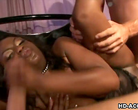 Ebony Jada Fire in hawt interracial!