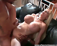 Hubby watches her make BBC double penetration porn
