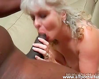 Black dick acquires hard thanks to aged