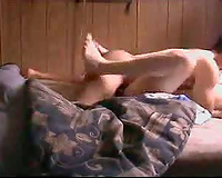 Missionary interracial thrusting with pair