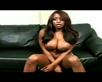 Black hotwife with incredible mangos eaten out