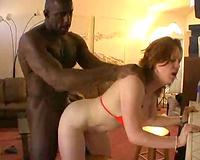 Sexy bikini babe taking dark 10-Pounder unfathomable