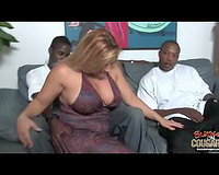 Fuck me with it – interracial sex