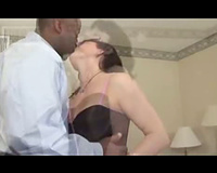 Experienced wife acquires shagged by a darksome fellow – interracial porn