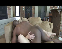 Horny wife receives boned by a perverted darksome guy