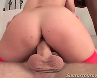 White black cock sluts in red underware can't live without interracial 3some
