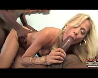 Black men blonde cougar – group interracial sex
