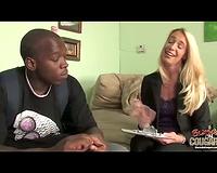 Hot cougar wife – interracial porn