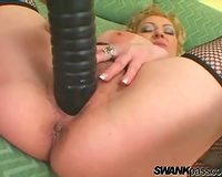 Naughty mom in corset screwed by BBC