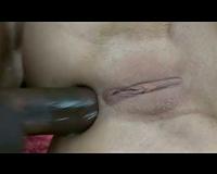 Amber Rayne interracial double penetration in underware