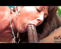 Nympho cougar or My sexy naughty wife for black