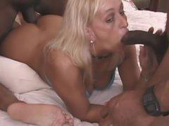 Amazing orgy – interracial sex clip