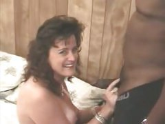 Hot wife with dark dude – her 1st interracial sex video