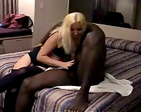 Hot interracial cuckold sex video of blonde wife fucking with bbc.