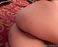 Black dongs and curvy floozy make interracial porn