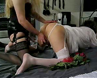 Sissy Cuckold Wedding Night