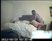 White Slutty Woman Fucking Black Cock on Hidden Camera