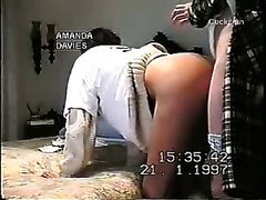 Hot slutty wife and happy neighbour shared amateur woman cuckold