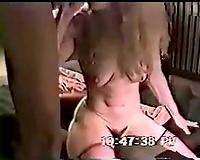 Blacks using blonde slut wife! Big black cock for white wife