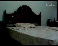 Masturbating on hidden webcam wife enjoying multiple orgasms with hands