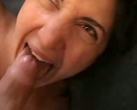 She can't live without me to cum in her face hole