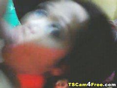 Big Cock Tranny Self Sucking