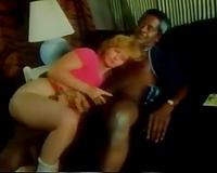 Classic interracial porn scene