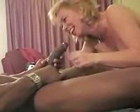 Hot interracial motel fuck