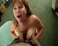 Interracial act with a lascivious horny white wife