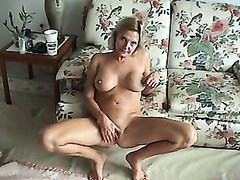 MILF WIFE loves masturbate and having huge orgasms.