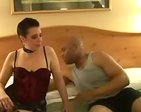 Wife goes interracial