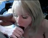Amber Michaels goes interracial