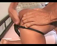Latin milf with super slim body fingered and screwed by husband