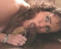 Hot interracial act with a horny hotwife