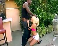 Jessie Volt sexy interracial