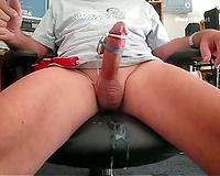 Cumming with vibrator