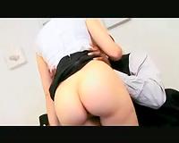 Sasha Grey interracial office fuck