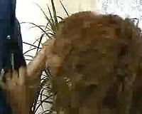 Ebony Chick With Big Melons Interracial Fuck