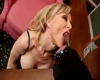 Nina Hartley Going For Office Interracial Sex
