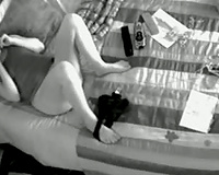 Quick finger wife hidden wank!- hidden camera
