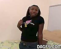 Danielle Luv Ebony Teen